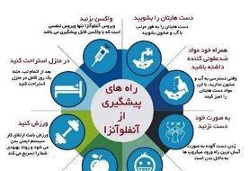 راه&#۸۲۰۴;های پیشگیری از آنفلوآنزا برای دانش&#۸۲۰۴;آموزان