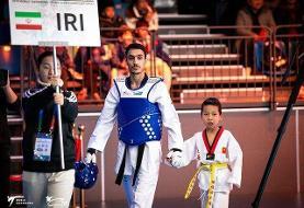 هادیپور اولین تکواندوکار المپیکی ایران در توکیو شد
