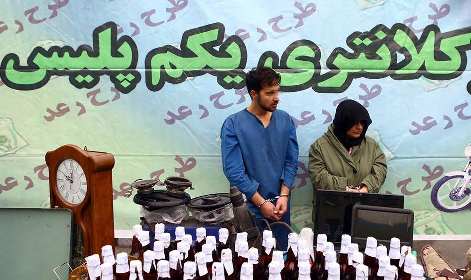 (تصاویر) طرح رعد ۳۱ پلیس پیشگیری پایتخت