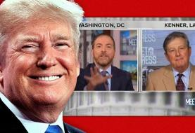 Trump thanks GOP senator for pushing Russian disinformation