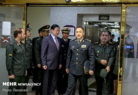 دیدار رئیس ستادکل نیروهای مسلح با معاون روابط بینالملل ارتش چین