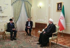 رسانههای عربی درباره دیدار روحانی و بن علوی چه نوشتند؟