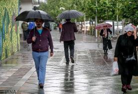 باران احتمالی فردای مشهد اسیدی است