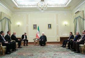 ایران اجرای پروژههای مشترک اکتشاف و استخراج نفت در دریای خزر را با جدیت پیگیری میکند