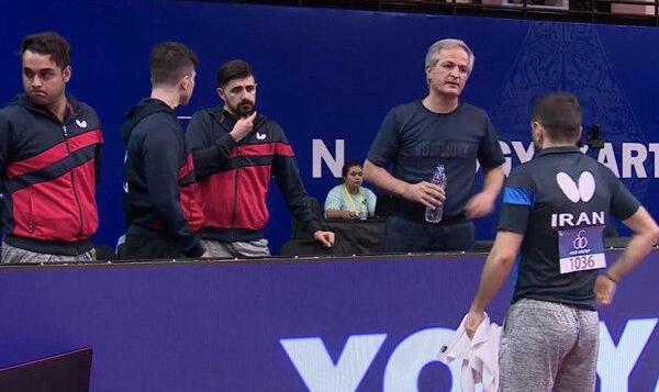 تیم ملی تنیس روی میز ایران از کسب سهمیه المپیک بازماند