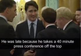 واکنش ترامپ به تمسخرش از سوی نخست وزیر کانادا: