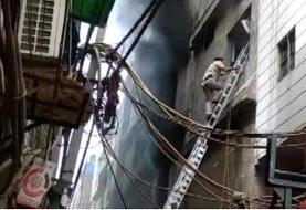 حریق کارخانه در بنگلادش ۱۰ کشته داد