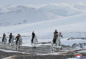 سیگنالهای کره شمالی به واشنگتن؛ از اسب سواری کیم تا هدیه کریسمس