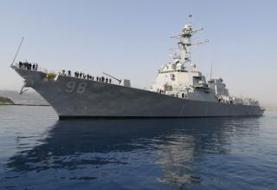'توقیف قطعات موشکی منسوب به ایران در راه یمن'