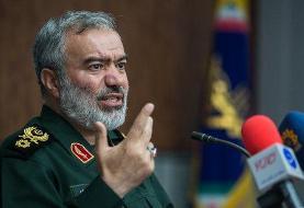 جانشین فرمانده کل سپاه: در غائله اخیر بسیج و سپاه بدون اسلحه به خیابانها رفتند