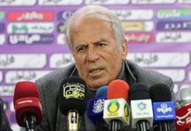 دیدار تیمهای فوتبال تراکتور و شاهین شهرداری