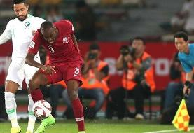 شکست قطر برابر عربستان؛ عراق از صعود بازماند