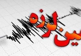 استان بوشهر با زلزله ۴.۳ ریشتری لرزید