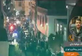 توضیحات جانشین پلیس پیشگیری پایتخت درباره تیراندازی در خیابان خاتم الانبیا