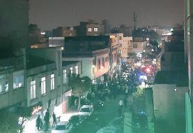 فیلم   روایت شاهدان عینی از تیراندازی منجر به مرگ در بولوار خاتم الانبیاء افسریه تهران