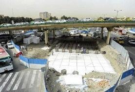 زیرگذر گیشا به طور موقت بازگشایی شد؛ افتتاح زیرگذر فجر تا دو ماه دیگر