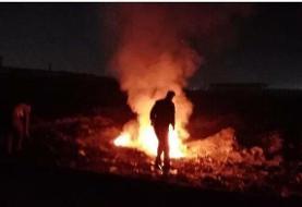 اطفاء ١٠٩ مورد پسماندسوزی در تهران در هفته گذشته