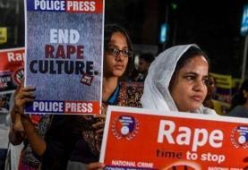یک زن هندی قربانی تجاوز به آتش کشیده شد