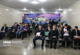 نائب رییس هیات فوتبال تهران و علی مطهری  اولین مراجعین ثبت نام در روز ششم