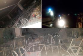 انفجار مرگبار در مراسم عروسی/ ۱۰ نفر کشته شدند+عکس و فیلم