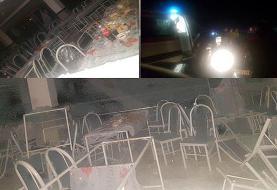 تصاویری تلخ از انفجار مرگبار تالار عروسی در کردستان
