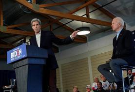 جان کری در کارزار انتخاباتی جو بایدن در ایالت آیووا حاضر شد