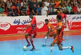 برتری گیتیپسند مقابل سوهان محمدسیمای قم در لیگ برتر فوتسال + جدول