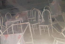 (ویدئو) تصاویر حادثه دلخراش تالار عروسی سقز