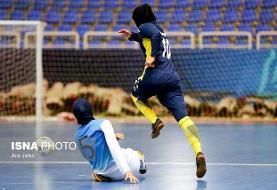 شکست تیم فوتسال بانوان مس رفسنجان در روز پیروزی مدعیان