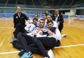 سومین برد متوالی تیم ملی گلبال با غلبه بر اندونزی