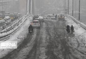 جادههای این ۹ استان بارانی است