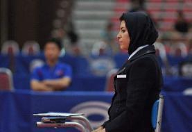 قضاوت داور تنیس روی میز ایران در رقابتهای انتخابی المپیک