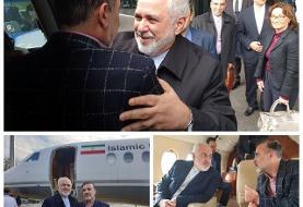 سلیمانی در راه بازگشت به تهران به همراه ظریف