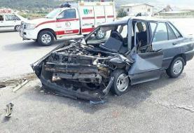 تصادف زنجیرهای ۴ خودرو در مسیر سبزوار-میامی/ ۹ نفر زخمی شدند