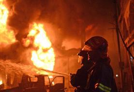 در هند دست کم ۳۲ نفر بر اثر آتش سوزی جان باختند
