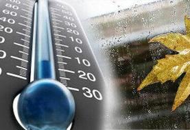 سازمان هواشناسی هشدار داد/ دما ۸ درجه کاهش مییابد
