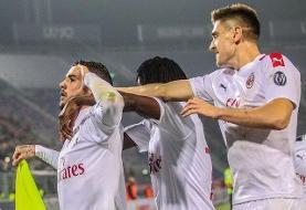 پیروزی میلان در سری آ ایتالیا