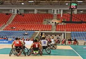 شکایت مسئولان فدراسیون جانبازان و معلولان از داور بازی بسکتبال ایران و استرالیا
