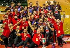 والیبالیست ایرانی با لوبه قهرمان جهان شد