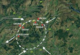 فیلم| تمرین ارتفاع پایین جنگندههای اف۱۵ سی در دره جنگندههای بریتانیا