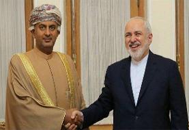 وزیر تجارت و صنعت عمان با ظریف دیدار کرد