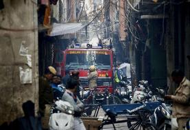 Devastating market fire kills at least 43 in Indian capital
