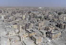 ورود نیروهای روسیه به پایتخت سابق داعش