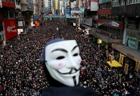تظاهرات ٨٠٠هزار نفری در هنگکنگ
