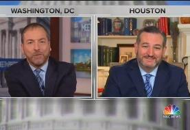 Chuck Todd Laces Into Ted Cruz for Saying Ukraine Meddled in 2016 Election