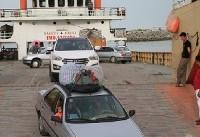 خدمات رسانی به مسافران در بندر های پل و لافت جریان دارد