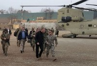 Acting Pentagon chief Patrick Shanahan arrives in Afghanistan