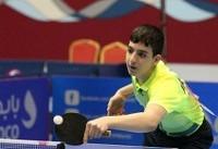 دو مدال پینگ پنگ بازان ایران در مسابقات بحرین