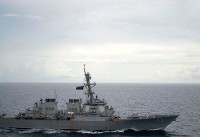 US angers China after sailing two warships close to disputed South China Sea islands