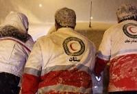 ۶۵۵ مسافر زمستانی متاثر از سیلاب و کولاک امدادرسانی شدند